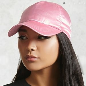 Accessories - 🌺3 FOR $20. SATIN DREAMY PINK BASEBALL CAP